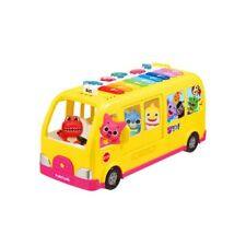 MiMi World PinkFong Singing Piano Bus, Number, Children's Song 3 Way Mode