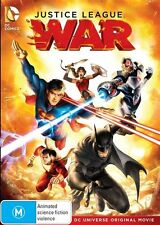 Justice League - War (DVD, 2015) Genuine & unSealed (D116)