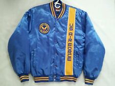 VINTAGE RARE PRIORITY MALE BRAND US AIR FORCE SATIN JACKET IN SIZE M