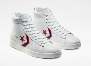 """Size 6 Converse Breaking Down Barriers """"Detroit Pistons"""" Pro Leather Trainer NEW"""