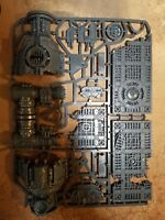 40k Terrain sector mechanicus derilict factorum. Ruined furnace.