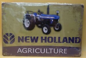 NEW TIN SIGN~NEW HOLLAND TRACTOR~MAN CAVE~GARAGE