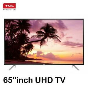 TCL 65 inches 4K UHD LED TV  Smart LED TV Netflix YouTube 65P4US