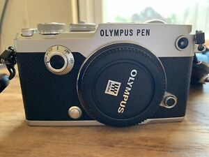 OLYMPUS PEN - F   WITH 3 LENS AND ALL ACCESSORIES