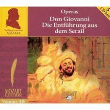 5-CD MOZART - OPERAS / DON GIOVANNI / DIE ENTFUHRUNG AUS DEM SERAIL (VOLUME 18)