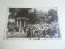 THE JUBILEE Vintage RPPC & Boo Boo (The Dog) Location Unknown Yorkshire?  §E1676