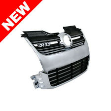 06-09 VW MK5 GOLF R32 FRONT BUMPER GRILLE - CHROME