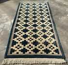 Authentic Hand knotted Gabbah Gabbeh Wool Area Rug 5.0 x 2.5 Ft (808 HMN)