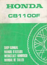 Honda CB1100F 1983 Extended Shop Manual