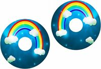 Wheelchair Spoke Guard Skins Childrens Rainbow View Mobility Sticker 171