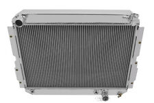 1981-1990 Toyota Landcruiser Radiator Aluminum 3 Row Champion,CC1213,New