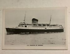 SS PRINCESS of NANAIMO VANCOUVER  BC STEAMSHIP REAL PHOTO POSTCARD GOWEN SUTTON