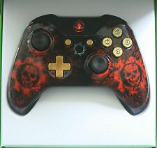 Brand NEW GEARS OF WAR CUSTOM XBOX ONE MODELLO BLUETOOTH CONTROLLER