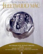 Fleetwood Mac 2002 best of Promotional Big static cling Sticker New Old Stock