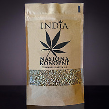Hemp Seeds INDIA 250g. ( Cannabis Sativa L. )