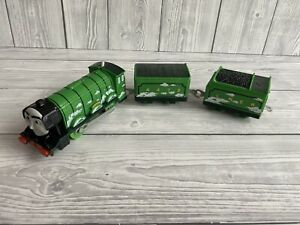 Thomas Flying Scotsman Motorised Train Friends Trackmaster Track Carriages