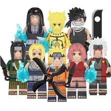Uzumaki Naruto Hyuga Hinata Zabuza Haku Tsunade Jiraiya Custom Lego Minifigures
