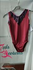 Girls Gymnastics Leotard size 30 BNWT by Zeds Leotards