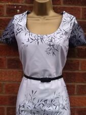 Grey/Black Pencil Wiggle Dress Size 10