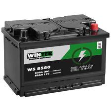 WINTER Autobatterie 12V 85Ah 820A/EN ersetzt 80AH Starterbatterie