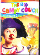 Big Comfy Couch Best of season 2  DVD Loonette,Molly,Granny,Garbanzo,Bedhead New