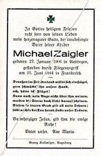 STERBEBILD  AVIS  DE  DECES  SOLDAT  ALLEMAND FRANCE  1944   ( 123 )