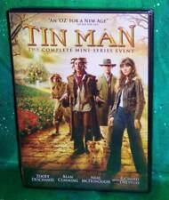 BRAND NEW ZOOEY DESCHANEL TIN MAN COMPLETE MINI SERIES TV MOVIE 2 DISC DVD 2007