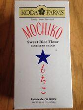 2x KODA FARMS MOCHIKO Sweet Rice /Mochi Flour 16oz Each