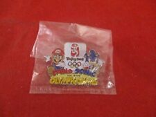 Mario & Sonic at The Olympic Games Beijing 2008 Promotional Pin Pinback Button