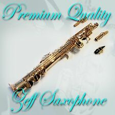 TOP QUALITY ZEFF ZSS-600 SOPRANO SAXOPHONE DESIGNED IN FRANCE