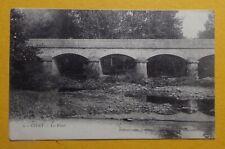 C133) CPA CIVRY SUR SEREIN le pont