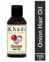 Khadi Natural Herbal Red Onion Hair Oil For Hair Growth 100 Ml