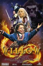POSTER WILLOW RON HOWARD GEORGE LUCAS VAL KILMER WARWICK DAVIS LOCANDINA PHOTO 2