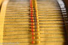 500x ISKRA 1,5K 1K5 Carbon film resistor 1/4W 0.25W 2% Marshall Hiwatt
