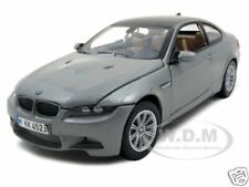 BMW M3 E92 COUPE GREY 1:24 DIECAST MODEL CAR BY MOTORMAX 73347