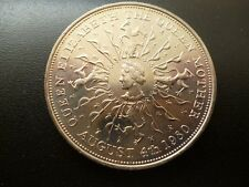 1980 CROWN COIN VERY FINE THE QUEEN MOTHER'S 80TH BIRTHDAY COMMEMORATIVE COIN