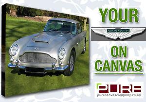 YOUR ASTON MARTIN DB9 DB7 V8 Vantage On CANVAS