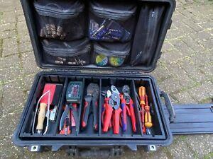 Peli 1510 Case Divider, Trennfächer, Einsatz mit 8x Trennbrett, Werkzeugeinsatz