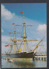 Shipping Postcard - HMS Warrior, Portsmouth Historic Naval Dockyard   T5348