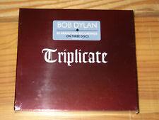 BOB DYLAN - TRIPLICATE / DIGIPACK 3-CD-BOX-SET 2017 OVP! SEALED!