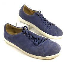 GUC Men's Cole Haan ZeroGrand Blue suede leather Sneakers Sz 9 M
