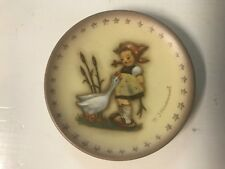 Hummel Minature Plate (Hum 974) Goose Girl