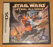 Star Wars Lethal Alliance (Nintendo DS) BRAND NEW FACTORY SEALED --- Video Game