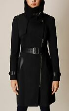 THE MOST WANTED KAREN MILLEN BLACK STATEMENT COAT UK 10 *CURRENT SEASON*