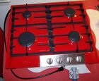 """MIELE STAINLESS STEEL GAS COOKTOP - 24"""" - KM 360 G - Display Model - FERRARI RED photo"""