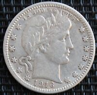 USA QUARTER DOLLAR 1916 D ARGENT