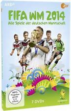 FIFA WM 2014 - Alle Spiele der deutschen Mannschaft, 7 DVD (2014)