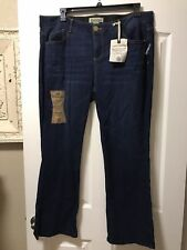 NEW Democracy Plus Size 20W Ab Solution Itty Bitty Boot Cut Jeans, Retail $78
