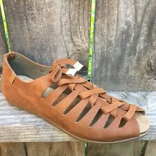 El Naturalista Womens Leather Sandals Size 6 Flats