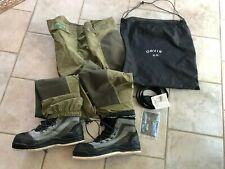 New-Mens orvis tailwaters  waders XL Hiking boot foot 13